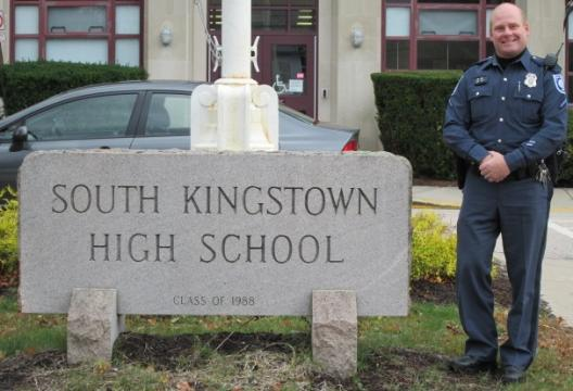 South Kingstown High School Officer