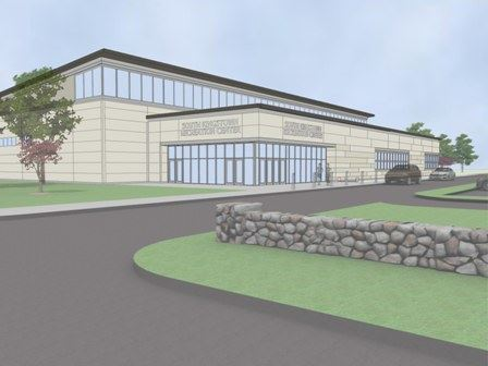 Recreation Center Rendering